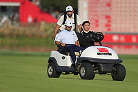 Xander Schauffele (USA) making his way down the 18th fairway during the final round of the WGC HSBC Champions, Sheshan Golf Club, Shanghai, China. 03/11/2019.<br /> Picture Fran Caffrey / Golffile.ie<br /> <br /> All photo usage must carry mandatory copyright credit (© Golffile | Fran Caffrey)