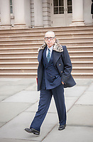 Noted attorney Sanford Rubenstein leaves New York City Hall in New York on Tuesday, March 21, 2017. (© Richard B. Levine)