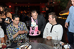 Perez Hilton receives his custom birthday cake at TAO Nightclub, Las Vegas, NV, April 1, 2010 © Al Powers / RETNA ltd