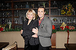 LOS ANGELES - DEC11: Ilene Graff, Scott Nevins at Scott Nevins Presents SPARKLE: An All-Star Holiday Concert to benefit The Actors Fund at Rockwell Table & Stage on December 11, 2014 in Los Angeles, California