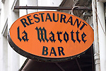Exterior, La Marotte Restaurant, Paris, France, Europe
