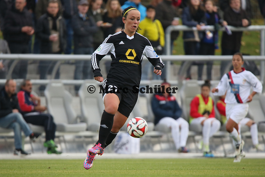 Peggy Kuznik (FFC) - 1. FFC Frankfurt vs. ASD Torres Femminile, UEFA Champions League Achtelfinal Hinspiel, Stadion am Brentanobad