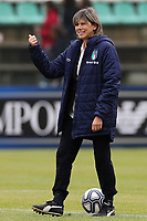 Milena Bartolini coach of Italy during the warm up <br /> Castel di Sangro 12-11-2019 Stadio Teofolo Patini <br /> Football UEFA Women's EURO 2021 <br /> Qualifying round - Group B <br /> Italy - Malta<br /> Photo Cesare Purini / Insidefoto