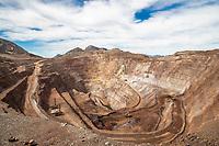 Tajo mina Argonaut Gold