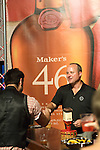 Greg Davis, the master distiller for Maker's Mark bourbon, shakes the hand of a fan at the 2011 Bourbon Festival.