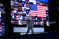 Washington, DC - March 27, 2017: Speaker of the House of Representatives Paul Ryan waves as he enters the stage to address attendees of the AIPAC Policy Conference March 27, 2017 at the Verizon Center in the District of Columbia. (Photo by Don Baxter/Media Images International)
