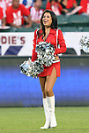 22 August 2009: A ChivaGirl, Chivas USA's cheerleaders. CD Chivas USA played Toronto FC at the Home Depot Center in Carson, California in a regular season Major League Soccer game.