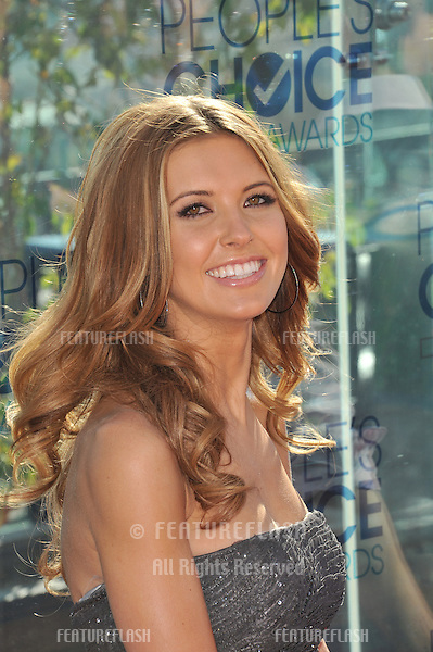 Audrina Patridge at the nominations announcement for the 2011 People's Choice Awards at the London West Hollywood Hotel..November 9, 2010  Los Angeles, CA.Picture: Paul Smith / Featureflash