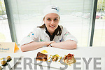Robyn Sheehan, Killarney Community College at the ITT Apprentice Chef finals on Friday