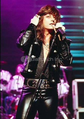 Joe Lynn Turner London 1992, venue unknown. Credit: Ian Dickson/MediaPunch