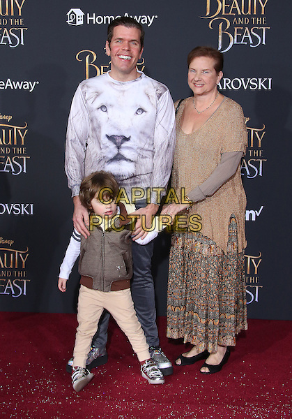 02 March 2017 - Hollywood, California - Perez Hilton. Disney's &quot;Beauty and the Beast' World Premiere held at El Capitan Theatre.   <br /> CAP/ADM/FS<br /> &copy;FS/ADM/Capital Pictures