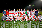 St Pat's Blennerville who were winner in the Coiste namoh Brendán Lee Strand Co-operative Creamery Ltd Senior League Final 2013 by defeating Na Gaeil by 1-12 -19 at Caherslee GAA pitch on Saturday evening.