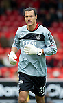Aberdeen v St Johnstone... 23.07.11   SPL Week 1.Keeper David Gonzalez.Picture by Graeme Hart..Copyright Perthshire Picture Agency.Tel: 01738 623350  Mobile: 07990 594431