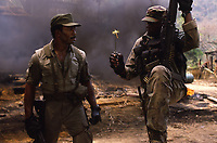 Predator (1987) <br /> Carl Weathers &amp; Bill Duke<br /> *Filmstill - Editorial Use Only*<br /> CAP/KFS<br /> Image supplied by Capital Pictures