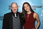 Jeffrey Richards and Samantha Massell attends the Broadway Opening Night performance for 'Significant Other' at the Booth Theatre on March 2, 2017 in New York City.