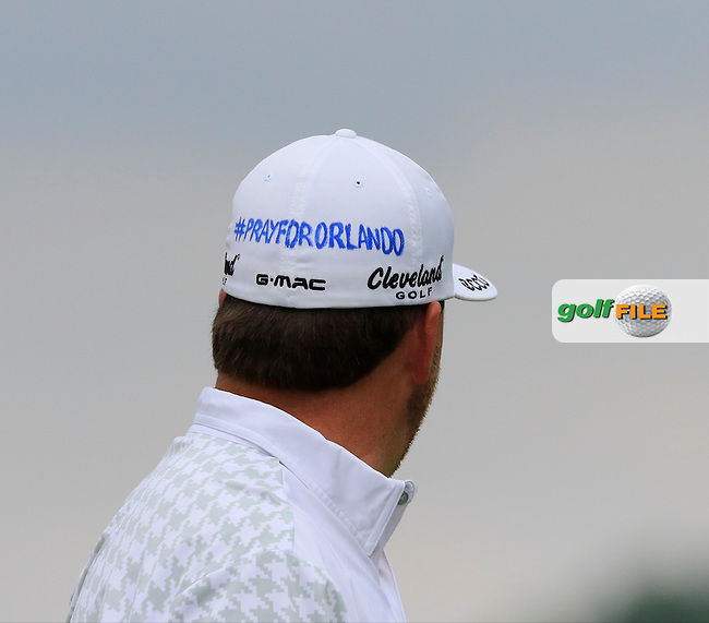 Graeme McDowell (NIR) on the 3rd tee during Friday's Round 1 of the 2016 U.S. Open Championship held at Oakmont Country Club, Oakmont, Pittsburgh, Pennsylvania, United States of America. 17th June 2016.<br /> Picture: Eoin Clarke | Golffile<br /> <br /> <br /> All photos usage must carry mandatory copyright credit (&copy; Golffile | Eoin Clarke)