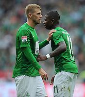 FUSSBALL   1. BUNDESLIGA   SAISON 2012/2013   3. SPIELTAG Hannover 96 - SV Werder Bremen     15.09.2012 Aaron Hunt (li) und Eljero Elia (re, beide SV Werder Bremen) sind enttaeuscht