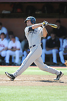 University of Connecticut Huskies outfielder Eric Yavarone (10) during game against the Rutgers University Scarlet Knights at Bainton Field on May 3, 2013 in Piscataway, New Jersey. Connecticut defeated Rutgers 3-1.      . (Tomasso DeRosa/ Four Seam Images)