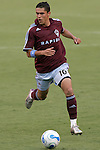 July 22 2007:  Herculez Gomez (10) of the Rapids.  The MLS Kansas City Wizards tied the visiting Colorado Rapids 2-2 at Arrowhead Stadium in Kansas City, Missouri, in a regular season league soccer match.