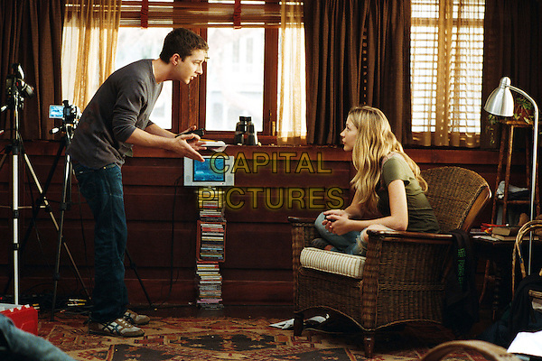 SHIA LABEOUF & SARAH ROEMER.in Disturbia .**Editorial Use Only**.CAP/FB.Supplied by Capital Pictures
