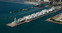 aerial photograph Navy Pier Chicago, Illinois