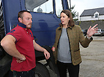 30/8/2014   Alison Hunt, manager, Cashel Mart with C&gt;J. O'Halloran from Clockeen, Tipperary.<br /> Picture: Liam Burke/Press 22