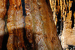 Close up detail of Giant Sequoia Tree Sequoiadendron giganteum bark, Congress Trail, Giant Forest, Sequoia NP, California