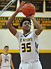 Tyrone Lyons #35 of St. Anthony's drains a free throw during a non-league varsity boys basketball game against Ward Melville at St. Anthony's High School on Thursday, Dec. 15, 2016. St. Anthony's won by a score of 52-48.