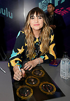 FX FEARLESS FORUM AT SAN DIEGO COMIC-CON© 2019: Cast Member Natasia Demetriou during the WHAT WE DO IN THE SHADOWS booth signing on Saturday, July 20 at SAN DIEGO COMIC-CON© 2019. CR: Alan Hess/FX/PictureGroup © 2019 FX Networks
