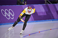OLYMPIC GAMES: PYEONGCHANG: 16-02-2018, Gangneung Oval, Long Track, 5.000m Ladies, Jelena Peeters (BEL), ©photo Martin de Jong