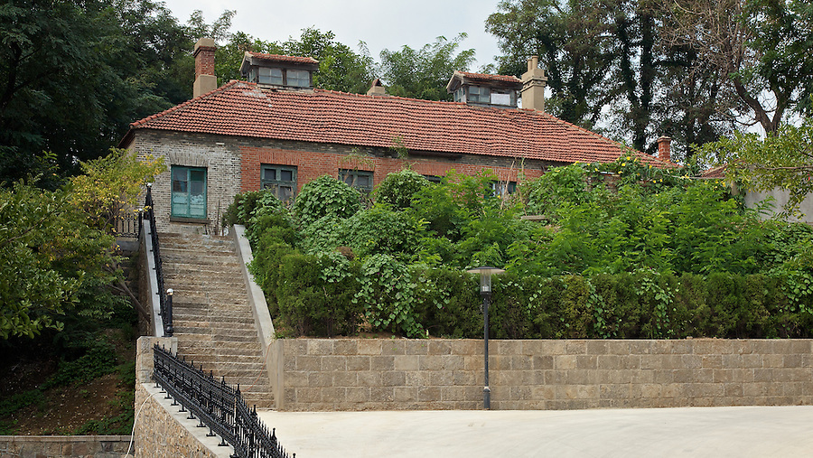 Constable's Quarters And Cells, Next To The British Consul's Residence In Yantai (Chefoo).