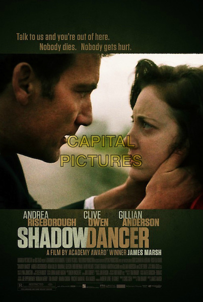POSTER ART<br /> in Shadow Dancer (2012) <br /> *Filmstill - Editorial Use Only*<br /> CAP/FB<br /> Image supplied by Capital Pictures