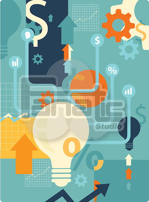 Illustrative image of business idea