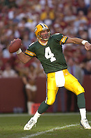 31 October 2004:  Brett Favre.<br />