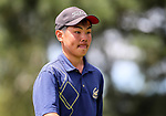 Hayato Miya during the New Zealand Amateur Golf Championship at Russley Golf Course, Christchurch, New Zealand. Saturday 4 November 2017. Photo: Simon Watts/www.bwmedia.co.nz