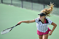 Action from the Tennis - CSW Open Individual Champs at Renouf, Wellington, New Zealand on Wednesday 24 February 2016.<br /> Photo by Masanori Udagawa. <br /> www.photowellington.photoshelter.com.