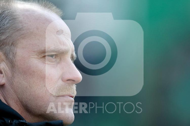 06.03.2010, GER, 1.FBL, Weser Stadion, Bremen, Werder Bremen vs VFB Stuttgart, im Bild Thomas Schaaf ( Werder  - Trainer  COACH)  Foto © nph / Kokenge