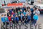 Members of the Iveragh Eagles RFC U11's who traveled to Garryowen on Saturday for a rugby blitz pictured here with parents and mentors.