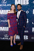 NEW YORK, NY - JUNE 11: Emily V. Gordon and Kumail Nanjiani at World Premiere of Men in Black International at AMC Lincoln Square on June 11, 2019 in New York City. <br /> CAP/MPI99<br /> ©MPI99/Capital Pictures