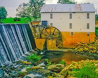 Murrays Mill, Catawba County, Appalachian Foothills, North Carolina