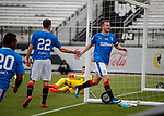 Andy Halliday scores for Rangers and celebrates