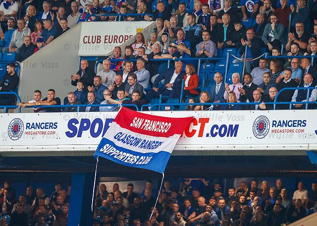 09.08.18 Rangers v Maribor: Rangers fans