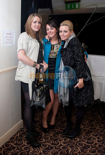 Renee Tallon, Leanne Farrell and Kathy Tallon at Barocco...Shane Maguire/Newsfile..