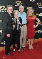 NORTH HOLLYWOOD, CA - JUNE 2:  Christopher Knight, Florence Henderon, Bernie Kopell and Jill Whelan at The Television Academy's 70th Anniversary at The Television Academy on June 2, 2016 in North Hollywood, California. Credit: PGSK/MediaPunch