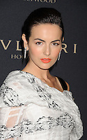 WWW.BLUESTAR-IMAGES.COM  Actress Camilla Belle   arrives at the BVLGARI 'Decades Of Glamour' Oscar Party Hosted By Naomi Watts at Soho House on February 25, 2014 in West Hollywood, California.<br /> Photo: BlueStar Images/OIC jbm1005  +44 (0)208 445 8588