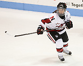 Brittany Esposito (NU - 7) - The Northeastern University Huskies defeated Boston College Eagles 4-3 to repeat as Beanpot champions on Tuesday, February 12, 2013, at Matthews Arena in Boston, Massachusetts.