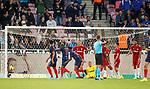 08.08.2019 FC Midtjylland v Rangers: FC Midtjylland score their first goal