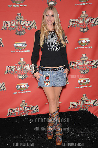 SHERI MOON ZOMBIE at the Spike TV Scream Awards 2006 at the Pantages Theatre, Hollywood..October 7, 2006  Los Angeles, CA.Picture: Paul Smith / Featureflash