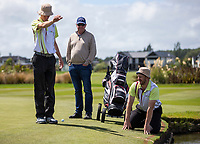 Action between Otago v Southland in the morning match up during the Toro Men's Interprovincial Golf Championship, Clearwater Golf Course, Christchurch, New Zealand. photo: Joseph Johnston/www.bwmedia.co.nz