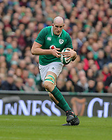 Saturday 10th March 2018 |  Ireland vs Scotland<br /> <br /> Devin Toner during the NatWest 6 Nations clash between Ireland and Scotland at the Aviva Stadium, Lansdowne Road, Dublin, Ireland. Photo by John Dickson / DICKSONDIGITAL